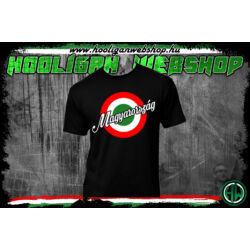 Piros-fehér-zöld Magyarország póló