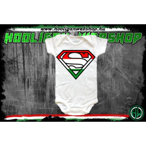 Trikoloros superman rugdalózó - Bébi termékek - Hooligan Webshop 7070f21f4b