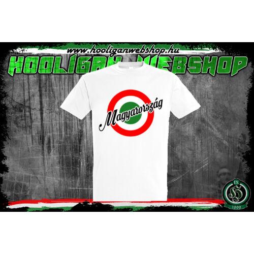 Piros-fehér-zöld Magyarország póló - Férfi pólók - Hooligan Webshop eb2c3a728a