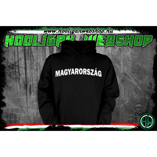 Magyarország kapucnis pulóver