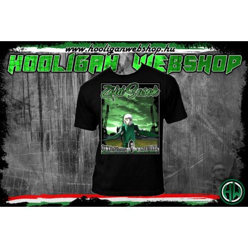 Zöld Sasok 2 férfi póló