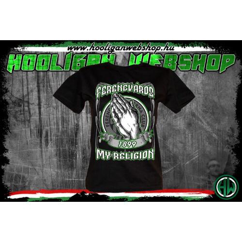 Ferencváros My Religion női póló