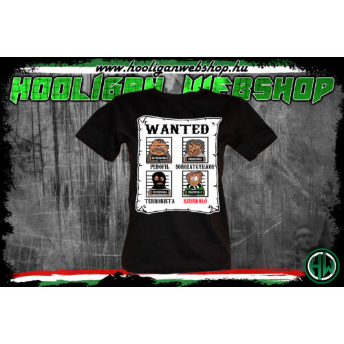 Wanted női póló