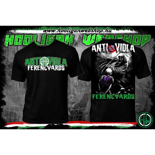 Anti viola Ferencváros póló
